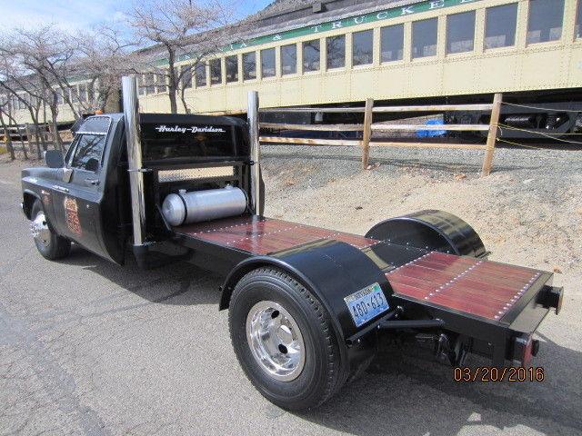Custom Chevy Ratrod Rat Rod Dually Flatbed W 454 400