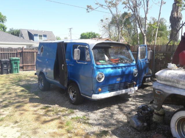 Custom Chevy Van 1965