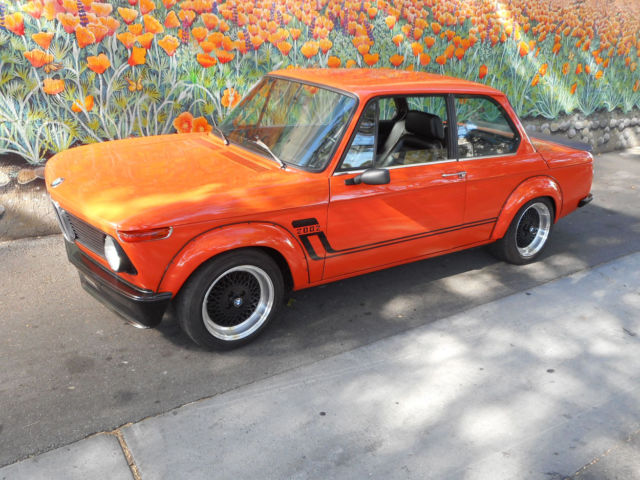 custom collectible classic 1973 bmw 2002 5 speed dogleg turbo look roundie for sale photos. Black Bedroom Furniture Sets. Home Design Ideas