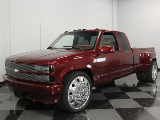 """24 Inch Dually Wheels >> CUSTOM DUALLY W/ FANTASTIC PAINT & INTERIOR, 24"""" ALCOA WHEELS, RIDES REAL SMOOTH for sale ..."""