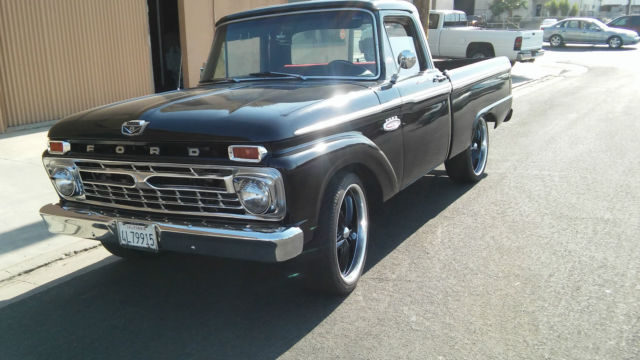 1966 Ford F-100 Twin I beam custome cab