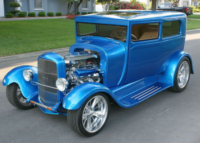 1929 Ford Model A RESTOMOD - STEEL - 1,600 MILES