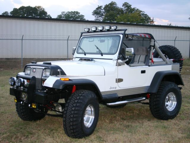 Custom Jeep Wrangler Yj No Reserve For Sale Photos
