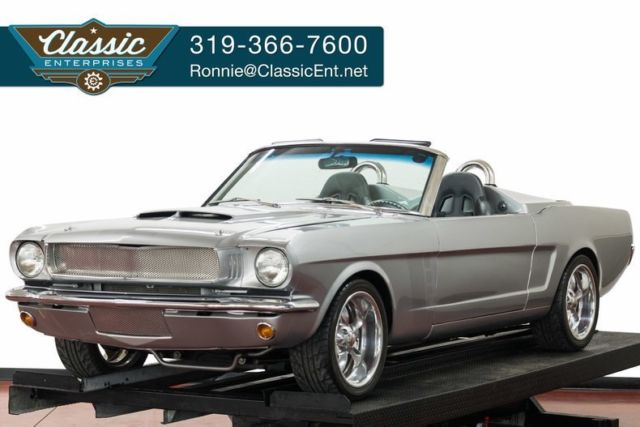 1966 Ford Mustang California convertible Lambo doors alloy wheels