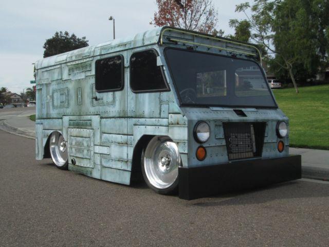 Custom Mail Truck Street Rod Hotrod Show Stopper