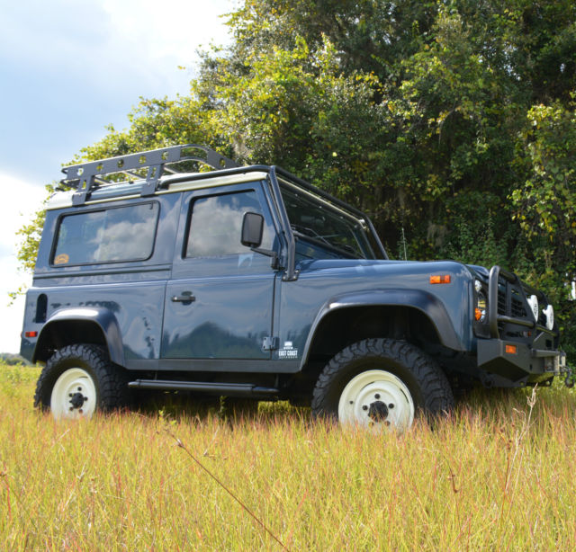 Custom NAS Land Rover Defender 90 For Sale: Photos