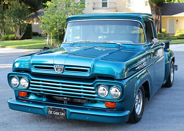 1959 Ford F-100 SHORT BED RESTOMOD - 5.7 LITER V-8 - 2K MILES