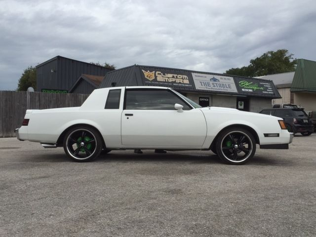 CUSTOM SATIN WHITE BUICK REGAL TURBO T TYPE!!!! COLD A/C ...
