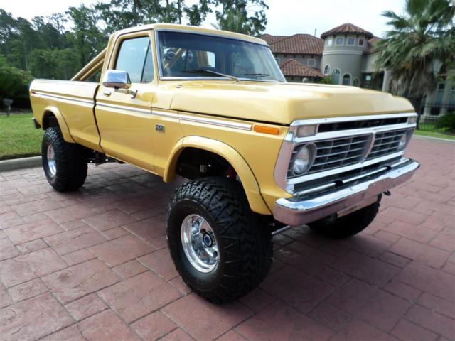 1974 Ford F-250 Big-Yella