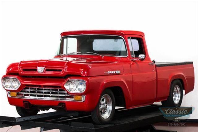 1960 Ford F-100 Solid Arizona truck with Weld wheels and radials