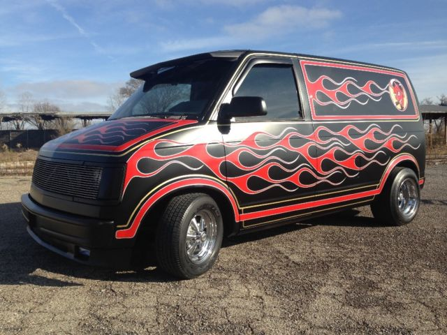 custom van hot rod rat rod chevy astro for sale photos technical specifications description. Black Bedroom Furniture Sets. Home Design Ideas