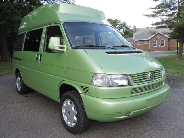 1991 Volkswagen EuroVan 2.5 TDi High Top Full Camper, Lift Kit