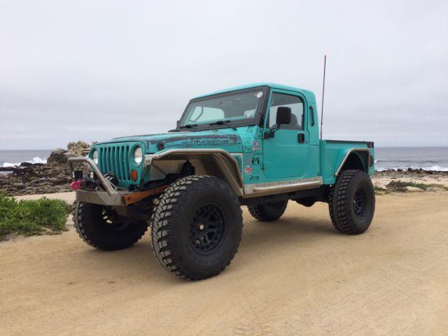 Customer Built Jeep Brute Pickup Truck Conversion 4 0 Engine