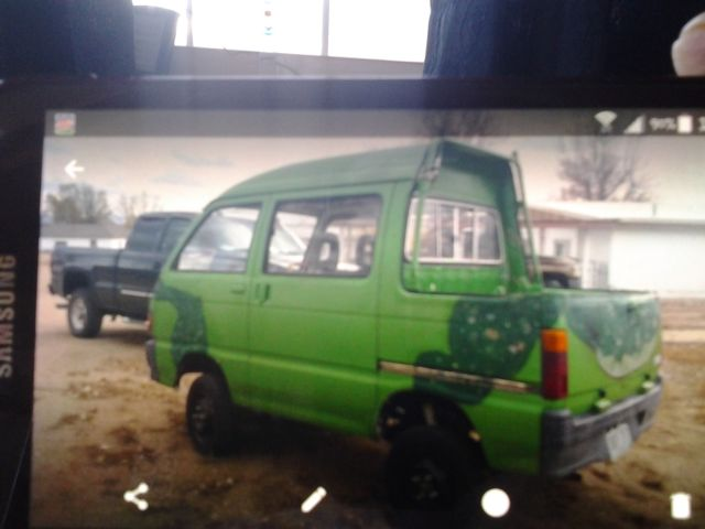 Daihatsu Hijet Deck Van For Sale: Photos, Technical