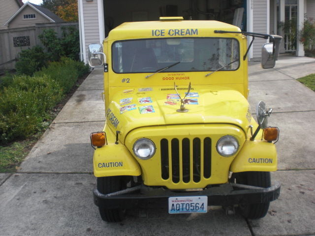 dandy ice cream truck vintage 1978 postal jeep for sale photos technical specifications. Black Bedroom Furniture Sets. Home Design Ideas