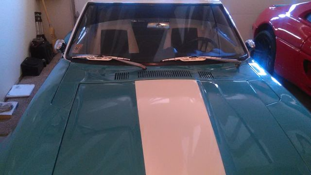 datsun 240 z custom exterior blue and white with black and white interior 4speed for sale. Black Bedroom Furniture Sets. Home Design Ideas