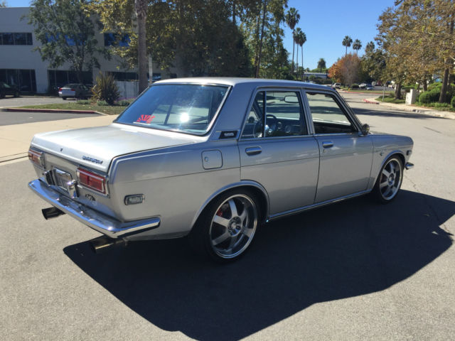 datsun 510 show car must see vg30 v6 conversion turn key condition pl510 sss for sale photos. Black Bedroom Furniture Sets. Home Design Ideas