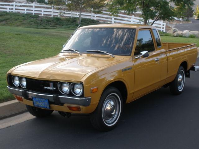 Datsun 620 Pick Up Nissan King Cab For Sale Photos Technical Specifications Description