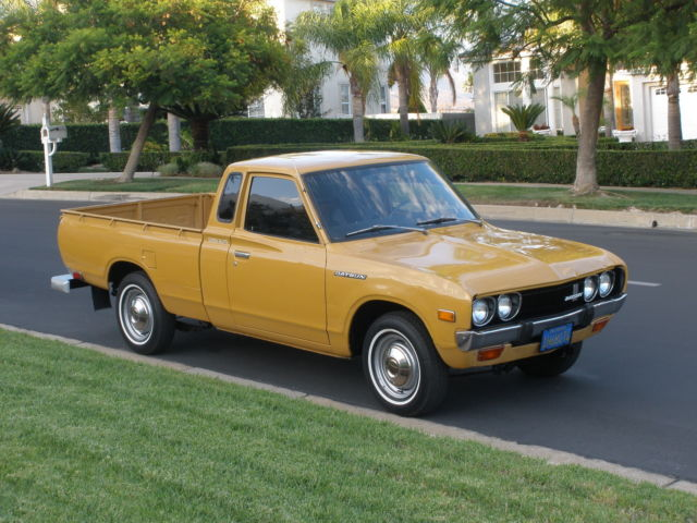 datsun 620 pick up nissan king cab for sale photos technical specifications description. Black Bedroom Furniture Sets. Home Design Ideas