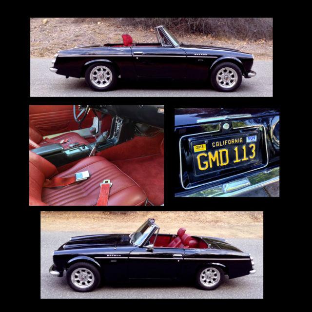 Datsun Roadster 2000 1969 SRL311, Fairlady, Restored, New ...