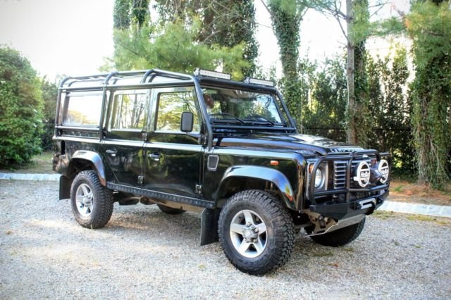 1985 Land Rover Defender Land Rover Defender 110 Puma Style Galvanized