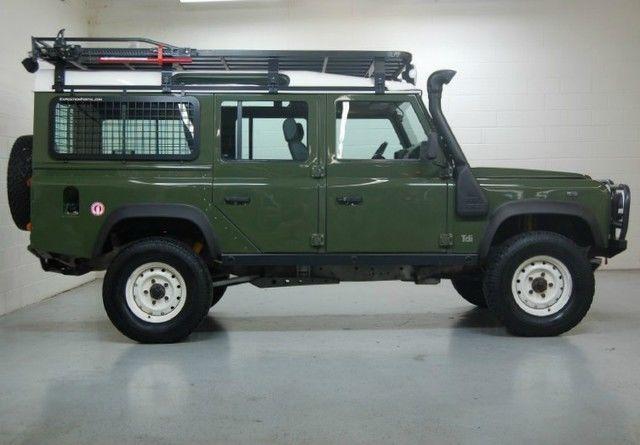 Defender 90 88 110 Ome Hannibal Bfg Safari Guard Winch