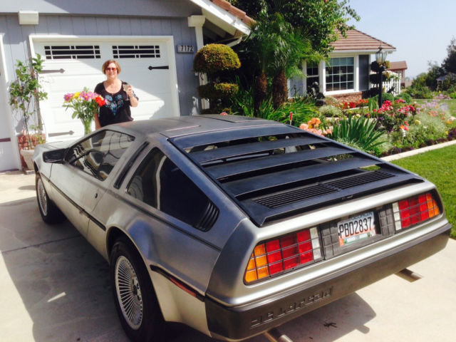 1982 DeLorean DMC-12 Thin Original Upper stripe