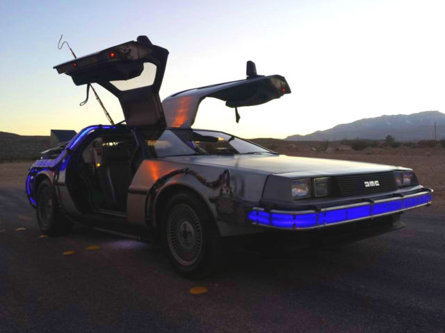 1981 DeLorean DMC-12 Back To The Future Time Machine
