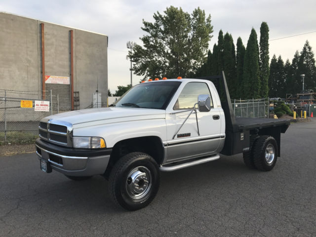 1994 Dodge Ram 3500 4WD 12V Cummings Diesel 5,Speed Manual  110K