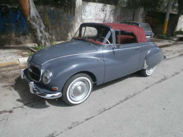 dkw 1000s auto union cabrio convertible for sale photos. Black Bedroom Furniture Sets. Home Design Ideas