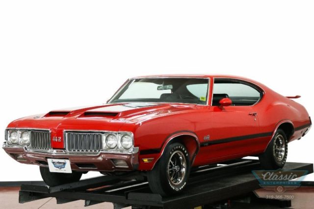1970 Oldsmobile Cutlass 442 Hardtop One of only 2574 W30s built solid