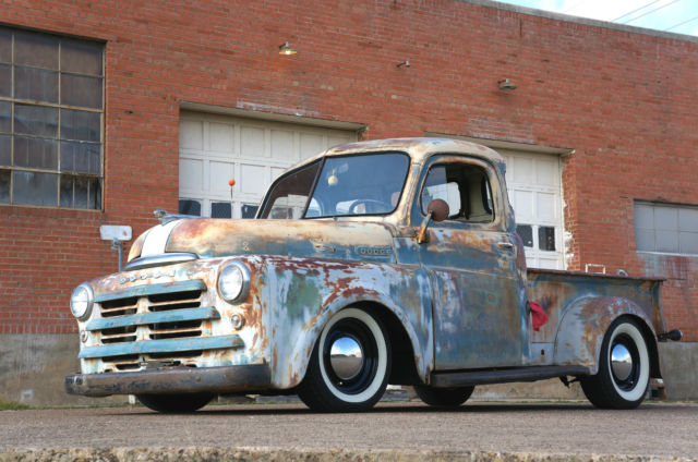 dodge b series hot rod show truck 1950 1953 v8 440 rat rod patina mopar custom for sale photos. Black Bedroom Furniture Sets. Home Design Ideas