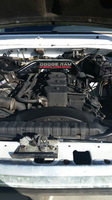 Dodge Cummins 5 9 Bt Diesel 1990 Ram D250 For Sale