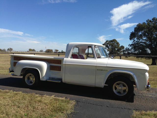 1963 Dodge Other Pickups D100
