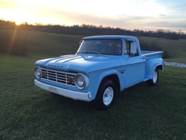 Dodge D100 Step Side Short Bed Truck For Sale Photos Technical