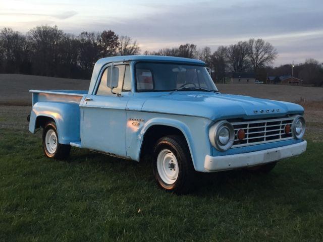 Dodge D100 Step Side Short Bed Truck for sale: photos ...
