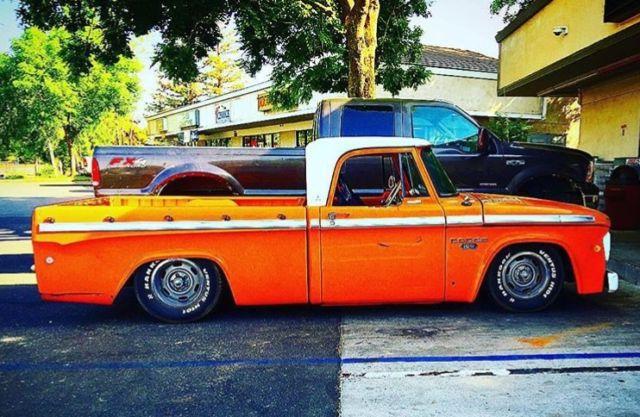 dodge  sweptline custom cab shortbed big block ifs  link rare mopar  sale