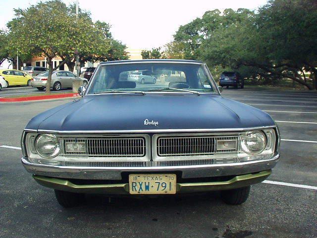 Cars For Sale Austin Tx >> Dodge Dart CUSTOM 1970 Orig TX car 318 V8 79k miles 3 sp AT 1 owner Mopar for sale: photos ...
