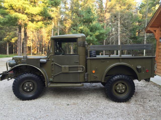 Dodge Military M37 Powerwagon 1952 for sale: photos, technical