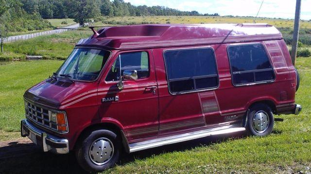 Dodge Ram 250 camper Van RV motorhome tail gait limo No reserve for