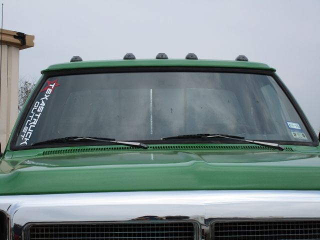 1993 Green Dodge Ram 2500 with Gray interior