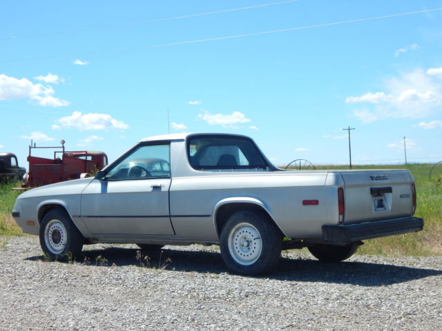 1984 Dodge Other Pickups Rampage
