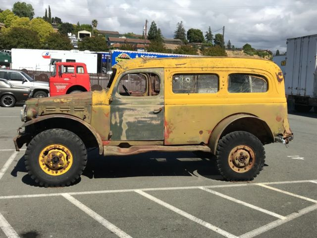 Dodge Wc 53 Power Wagon Carryall For Sale Photos Technical