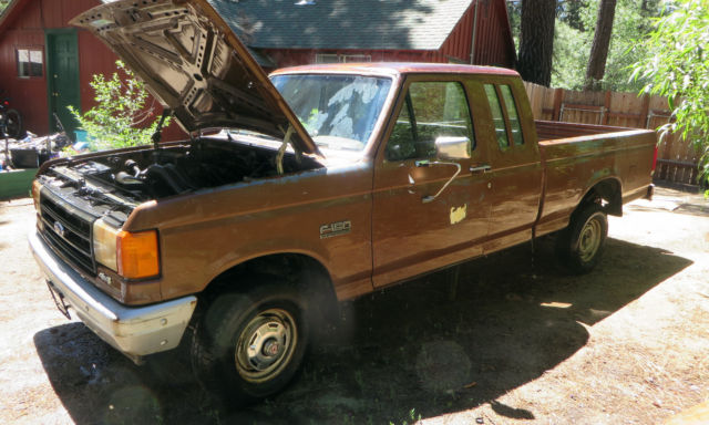 1988 Ford F-150 Custom 4WD