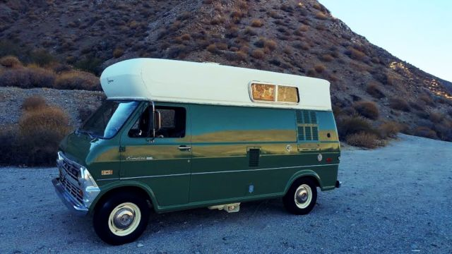 1970 Ford E-Series Van CAMPER EQUIPPED