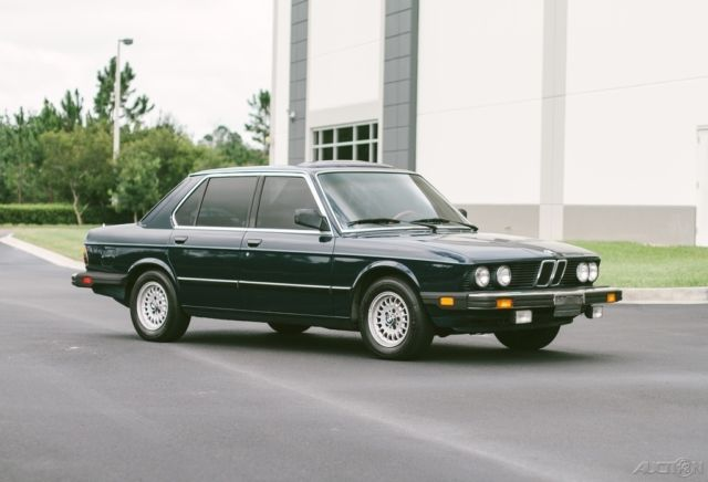 1983 BMW 5-Series E28 528E LOW MILES OUTSTANDING ORIGINAL 2 FL OWNER