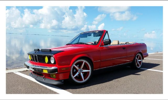 1989 BMW 3-Series 2 DR CONVERTIBLE