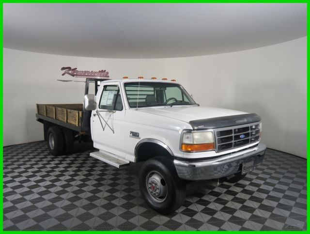 easy financing 120677 miles used white 1994 ford f 350 xl flatbed dually 4wd for sale photos. Black Bedroom Furniture Sets. Home Design Ideas