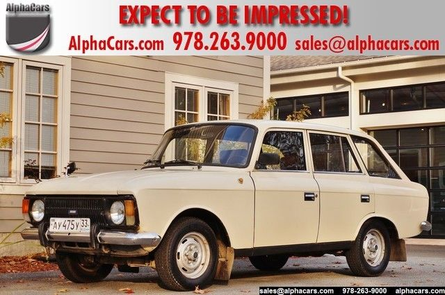 1988 Other Makes Moskvitch Izh