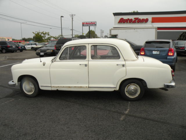 1960 Mercedes-Benz 190-Series